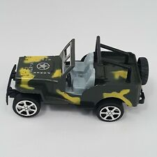 Jeep Super Power Toy SY-873 Camo Friction Military Army Truck Greenbrier Intl