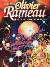 BD prix réduit Olivier Rameau Le grand voyage en Absurdie