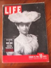 Life Magazine Jan Clayton In Show Boat Winston Churchill's Secret War 1946