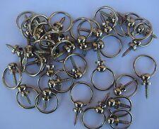 environ 50 Crochet Bélière Laiton,Accroche Tableaux,Cadre,Tableau,Ø intérieur 17