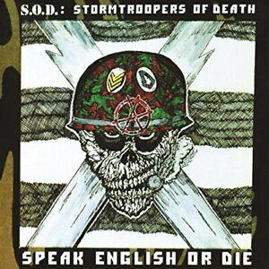 S.O.D.-SPEAK ENGLISH OR DIE (30TH ANNIVERSARY EDITION) VINYL LP NEU