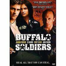 Like New WS DVD Buffalo Soldiers Joaquin Phoenix Anna Paquin Ed Harris Scott