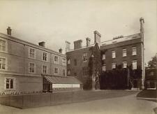 1870 Albumen Print Headmasters House Winchester College England Hills & Saunders