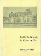 Basilika Sankt Maria im Kapitol zu Köln Pfarrnachrichten Pfarrbrief Herbst 1977