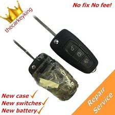 Repair refurbishment service for Ford Focus Mondeo Transit Connect remote key