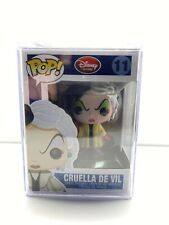 """NEW"" POP FUNKO DISNEY RED LABEL CRUELLA DE VIL #11 + PROTECTOR (VAULTED)"