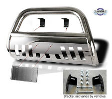 02-09 Chevy Trailblazer GMC Envoy Chrome Bull Bar in Stainless Steel Bumper