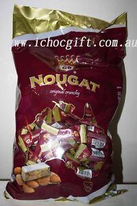 Golden Boronia NOUGAT Original Crunchy 1kg Bulk Bag
