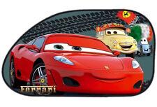 2 Disney Pixar Cars Ferrari Kids Baby Children Car Window Sun Shades 26