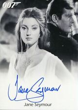 James Bond Archives 2017 Full Bleed Autograph Card Jane Seymour As Solitaire