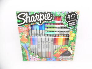 Sharpie 40ct Limited Edition Metallic Colors Permanent Marker Kit Set