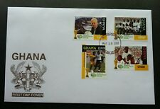 Ghana Germany FIFA World Cup Football 2006 Games Sport (stamp FDC)