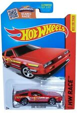 HOT WHEELS 1/64 SCALE 2015 HW RACE DMC DELOREAN # 184/250 TRACK ACES