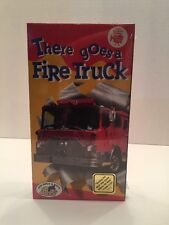 Kid Vision There Goes A Fire Truck Color VHS (1993)