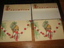 Vintage lot 2 unused w/ envelopes hallmark spencer sparrow esq. Christmas cards