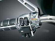 New Heat Demons Grip Heater Harley Chrome Left Mount All Models & Bar Sizes