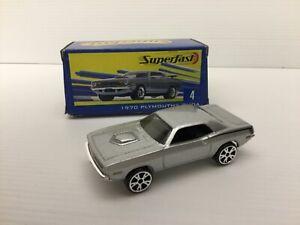 2004 Matchbox Superfast 1970 Plymouth Cuda