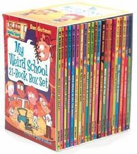 NEW - My Weird School 21-Book Box Set by Gutman, Dan