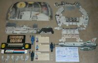 1982 GI Joe Cobra Missile Command Headquarters Complete Set Figures & File Cards