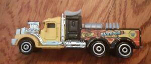 1999 Hot Wheels Mattel 18 Wheeler Hot Rod Elwoods Garage Truck Diecast Metal