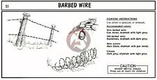 "Verlinden 1/35 Barbed Wire (7.5"" inches) [Photo-etch Diorama Accessory kit] 51"