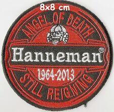SLAYER  - Hanneman patch - FREESHIPPING