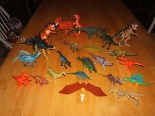 HUGE LOT 23 Dinosaurs Mixed Brands 3.5 inch to 12 Inch Mint Condition!!