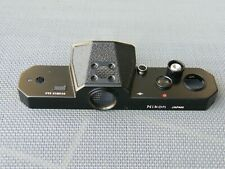 NIKON FT2 Black Top Cover + Bottom Plate, NEW!