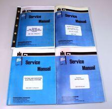 International Ih 666 686 Gas Tractor Engine Service Repair Manual Shop Book Set