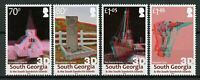 South Georgia & Sandwich Isl 2019 MNH Grytviken Shackleton 4v Set 3D Stamps