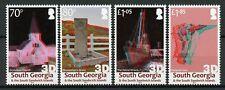 South Georgia & Sandwich Isl 2019 MNH Grytviken Shackleton 4v Set 3D Stamps