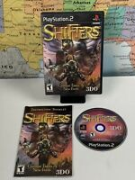 SHIPS SAME DAY SHIFTERS PS2 GAME - Sony Playstation 2002 RPG Adventure Tested