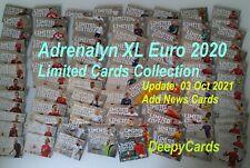 ADRENALYN EURO 2020 LIMITED EDITION XL XXL -CHOOSE ALL CARDS
