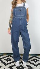 Denim Dungarees Small UK 10 Fitted, 8 XS Oversized (682K)