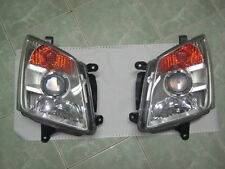 FRONT CLEAR HEADLIGHT LAMP PAIR ISUZU HOLDEN RODEO AMIGO DENVER DMAX D-MAX 07-11