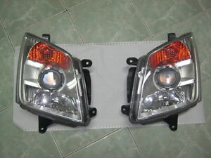 FRONT CLEAR HEADLIGHT LAMP PAIR ISUZU HOLDEN RODEO AMIGO DENVER DMAX D-MAX 07-11