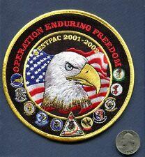 CVN-74 USS STENNIS CVW-9 WESTPAC 2001 US NAVY Ship Squadron Cruise Patch