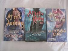 Lot of 3~Warriors of Poseidon series by Alyssa Day~Atlantis~LBDPK