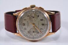 k05g11- Chronograph Suisse Armbanduhr 18kt Gold Gehäuse, 816548/ 158