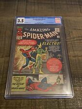 Amazing Spider-Man #9 CGC 3.5 OW Pages 1st Appearance of Electro Marvel 1964
