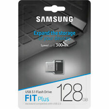 Samsung FIT Plus 128GB USB 3.1 300MB/s 128G Flash Drive MUF-128AB Retail