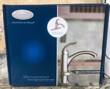 Open Box Premier Waterfront Single Handle Kitchen Faucet Brushed Nickel 2498036