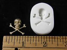 Skull & Crossbones #2 Polymer Clay Mold (#MD1292)