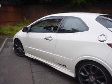 Heko Wind & Rain Deflectors Honda Civic FN2 3 Door Front Set Smoked New UK Stock