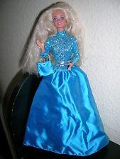 barbie blonde cheveux longs pailleté par Mattel