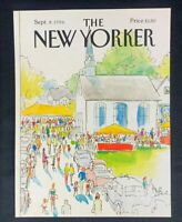 COVER ONLY ~ The New Yorker Magazine, September 8, 1986 ~ Arthur Getz