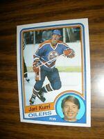 1984-85 Topps #52 Jari Kurri  Edmonton Oilers NrMT