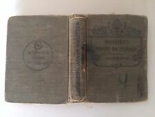 1920-30' Webster's Handy Dictionary/ Illustrated (first 20 pages missing)