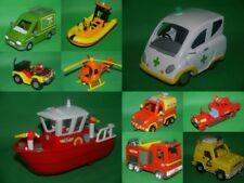 Fireman Sam Vehicles*Titan*Venus*Neptune*Jupiter*Quad*Bessie*4x4*Heli*Ambulance