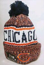 Chicago Bears New Era Knit Hat On Field 2018 Sideline Beanie - Nwt - w/ Gsh logo